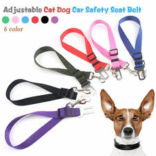 Pet Puppy Dog Car Vehicle Seat Belt Cat Safety Harness Restraint Lead Adjustable
