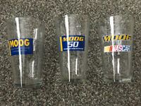 Moog / Nascar pint glass set (collector's edition) / 6 glasses included