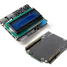 LCD Keypad Shield Blue Backlight LCD1602 Module Display For Arduino ATMEGA328