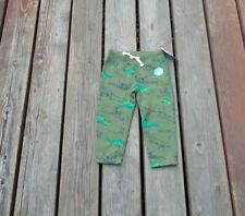 Carter's Green Dinosaur Jogger Sweatpants Size 2T New W/Tags