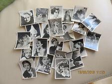 Zigarettenbilder, Filmbilder 22x Sammelbilder, schwarz-weiß