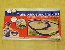 Underground Ernie Train, Bridge And Track Set With battery operated circle train