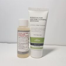 Manyo Factory Skin Toner & Soda Foam (50ml + 50ml) Deep Pure Natural