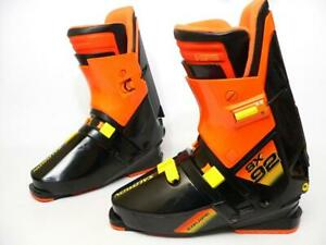 Vintage SALOMON SX92 Equipe Rear Entry Downhill Ski Boots Men's Size 340 / MP 27