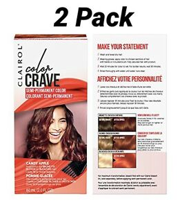 Clairol Color Crave Semi-Permanent Color 2 Pack-Candy Apple