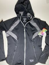 Mountain Hardwear Super Power Hoody Jacket Womens Size Small NWT Black