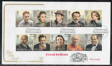 GB Great Britain FDC 2013 - GREAT BRITONS SETENENTS