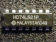 10x HD74LS21P Dual 4-input AND Gate, Hitachi