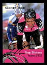 Guiseppe Guerini  Autogrammkarte Original Signiert Radfahren+A 123975
