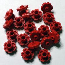 Bulk Lego Pieces: 20 Red 2x2 Plant Flower Legos ** NEW ** LDraw part 4728