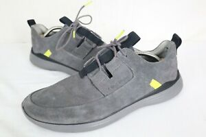Cole Haan Men's Grandsport Apron Toe Sneaker Quiet Shade Grey C30758 Size 11.5 M