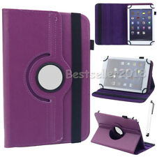 "For Samsung Galaxy Tab 2/3/4 7"" 8"" 10.1"" Tablet Universal PU Leather Case Cover"