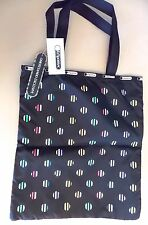 """""""LeSportsac-Japan Limited & Exclusive""""-RUBY Tote-40th Anniversary-STRIPE-DOT-NEW"""