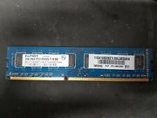 Elpida EBJ21UE8BDF0-AE-F PC3 2GB 1066MHz CL7 DDR3 Laptop RAM Memory (F3857)