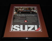 1986 Isuzu I-Mark Framed 11x14 ORIGINAL Advertisement