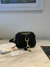 SEE BY CHLOÉ Tony Black leather belt bag bum bag