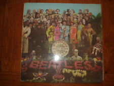 33T BEATLES SERGENT PEPPERS LONELY HEARTS 1967 ODEON EMI RECORDS SANS CUTS OUT