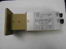 SATELLINK INC. C BAND LNA SHA390-55LB1 P/N 9V670-530-040-002 LOW NOISE AMPLIFIER