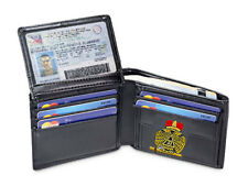 33rd DEGREE WALLET - BI-FOLD STYLE - EMBROIDERED LOGO - NEW - SCOTTISH RITE