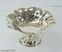 Anbietschale Aufsatzschale Florentiner Design in aus 800 er Silber bowle