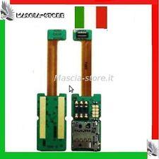 FLAT FLEX Cavo NOKIA E65 Lettore Memory  SCHEDA Porta Sim Card reader E 65