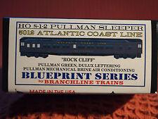 "BRANCHLINE 8-1-2 ATLANTIC COAST LINE - PULLMAN SLEEPER-CAR KIT""ROCK CLIFF"""
