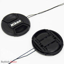 55mm Camera Snap-on Front Lens Cap cover For Nikon D40 D50 D60 D80 D90 D3000 NEW