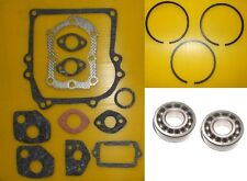 BRIGGS & STRATTON  2HP 3HP 3.5HP GASKET SET, PISTON RINGS, CRANKSHAFT BEARINGS