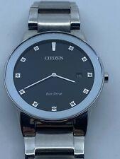 Citizen Axiom Eco-Drive Black Dial Men's Watch AU1060-51G