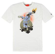 NIKE Space Gorilla T-Shirt sz S Small White Jungle Moon Lunar Max React Vapormax