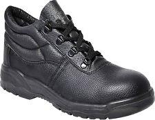 WORKER MENS SAFETY STEEL TOE WORK WEAR MIDSOLE BOOTS SHOES SIZE 8, 9, 10, 11, 12