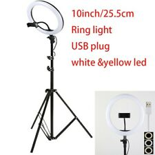 Ring LED Light USB Plug