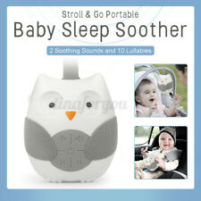 Portable Adult Kids Baby Relaxing Sleep Machine White Noise Sound Soothing Relax