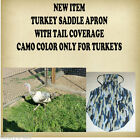 TURKEY or DUCK SADDLE APRON with TAIL COVERAGE HATCHING EGGS BACK PROTECTION