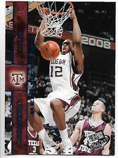 2008 Press Pass Reflectors #18 DeAndre Jordan rookie card, Brooklyn Nets