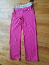Toddler Girl's Nike Dry-Fit vivid pink gray waist leggings sport pants size 6x
