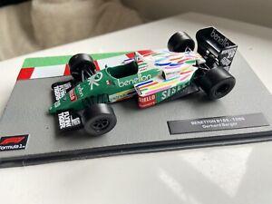 F1 Car Collection Benetton BMW B186-  Gerhard Berger -1986 - Superb
