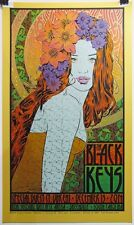 Black Keys Greenville Sc Gold Metallic Variant Print Chuck Sperry Ed 25