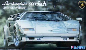 Fujimi 125510 Lamborghini Countach 25° Anniversaire 1:24 Modélisme