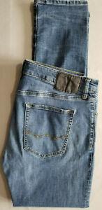 AMERICAN EAGLE Men Extreme Flex 4 Slim Fit Cotton Denim Jean - 34x34 Dark Blue