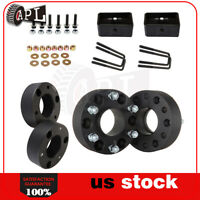 Fits Silverado 1500 8pc 3'' Front 2'' rear leveling lift kit 6x5.5 wheel spacers