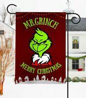 Merry Christmas Grinch Flag Wall Flag 2020 Garden Flag Grinch Christmas Flag