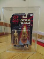 Star Wars Episode 1 Battle Droid Master Yoda Carded AFA not CAS UKG