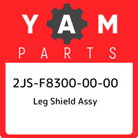 2JS-F8300-00-00 Yamaha Leg shield assy 2JSF83000000, New Genuine OEM Part