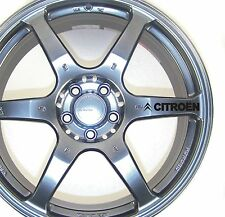 Citroen Alloy Wheel Stickers Berlingo C4 C5 Xsara Picasso X 6