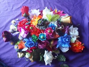 Bulk Lot Flower Heads For Craft