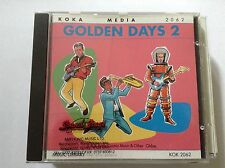 KOKA MEDIA 2062 GOLDEN DAYS 2 RARE LIBRARY SOUNDS MUSIC CD