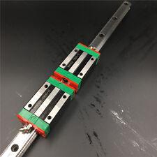 L2500mm Linear Rail Guide HGR25 &2pc HGH20CA Rail Block Carriage Replace HIWIN