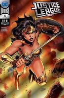 Justice League #4 Jim Lee Silver Foil Wonder Woman Variant 2018 SDCC Exclusive