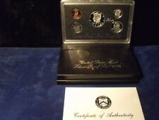 1998,US Coin Proof SILVER Set, 5 Coin Set, Kennedy Half, Birth Year, 90% SILVER